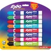 Expo Low-Odor Dry Erase Chisel Tip Markers - Chisel Marker Point Style - Assorted - 16 / Set