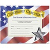 "Flipside Citizenship Certificate - ""Citizenship Certificate"" - 11"" x 8.50"" - Laser Compatible - Assorted - 30 / Pack"