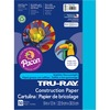 """Tru-Ray Construction Paper - Art Project - 12"""" x 9"""" - 50 / Pack - Atomic Blue - Sulphite"""