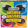 Learning Resources Recordable Answer Buzzers - Theme/Subject: Learning - Skill Learning: Sound, Game - 4 Pieces - 3+