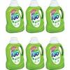 AJAX Fab Spring Magic Ultra Laundry Detergent - Concentrate - 49.7 fl oz (1.6 quart) - 6 / Carton - Green