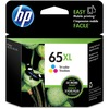 HP 65XL (N9K03AN) Original Ink Cartridge - Inkjet - High Yield - 300 Pages - color - 1 Each