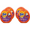 Tide Pods Laundry Detergent - Spring Meadow Scent - 72 / Tub - 288 / Carton - Blue