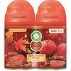 Air Wick Freshmatic Refill Apple/Cinnamon 2-pack - Spray - 6.17 oz - Apple Cinnamon Medley - 60 Day - 2 / Pack - Odor Neutralizer, Long Lasting