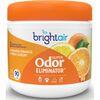 Bright Air Super Odor Eliminator Air Freshener - 14 fl oz (0.4 quart) - Fresh Lemon, Mandarin Orange - 60 Day - 6 / Carton