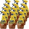 Zep Hardwood & Laminate Floor Cleaner - Spray - 32 fl oz (1 quart) - 12 / Carton - Brown