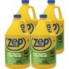 Zep Commercial High-Traffic Floor Finish - Liquid - 128 fl oz (4 quart) - 4 / Carton - Clear, Green