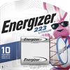 Energizer 223 e2 Lithium Photo 6-Volt Battery - For Multipurpose - CR223 - 6 V DC - Lithium (Li) - 24 / Carton