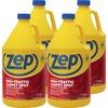 Zep High-Traffic Carpet Spot Remover & Cleaner - Liquid - 128 fl oz (4 quart) - 4 / Carton - Red