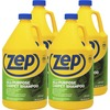 Zep Concentrated All-Purpose Carpet Shampoo - Concentrate - 128 fl oz (4 quart) - 4 / Carton - Blue