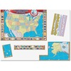 """Teacher Created Resources US Map Bulletin Board Display - 36"""" Width x 24"""" Height"""