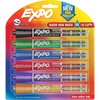 EXPO Dry-Eraser Markers - Ink Indicator - Chisel Marker Point Style - Assorted - 6 / Pack