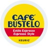 Café Bustelo® Espresso Style K-Cup - Compatible with Keurig Brewer - Regular - Espresso - Medium/Dark - 24 / Box