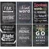 "Creative Teaching Press Inspire U Chart Pack - 13.4"" Width x 19"" Height - Chalkboard - Multicolor"