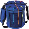 """Pacon Carrying Case (Tote) Yarn - Blue - Nylon - Carrying Strap - 12"""" H x 10.5"""" Diameter"""