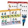Hot Dots Jr Pre-K Reading Set Interactive Printed Book - Book - Grade Pre-K