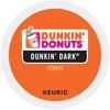 Dunkin' Donuts® Dunkin' Dark K-Cup - Compatible with Keurig Brewer - Regular - Arabica - Dark - 24 / Box