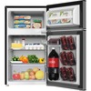 Avanti RA31B3S 3.1 Cubic Foot 2-door Counter-high Refrigerator - 3.10 ft³ - Auto-defrost - Reversible - 2.10 ft³ Net Refrigerator Capacity - 1 ft³ Net