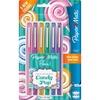 Paper Mate Flair Candy Pop Limited Edition Felt Tip Pen - Medium Pen Point - Assorted - Felt Tip - 6 / Pack