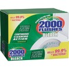 2000 Flushes Automatic Toilet Bowl Cleaner - Tablet - 12 / Carton - White