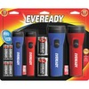 Energizer LED Flashlight Combo Pack - Bulb - D - Red, Blue