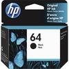 HP 64 (N9J90AN) Ink Cartridge - Black - Inkjet - 200 Pages - 1 Each
