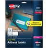 """Avery® Address Labels, Laser, 1"""" x 2-5/8"""" , 750 Glossy Labels (6526) - 1"""" Height x 2 5/8"""" Width - Rectangle - Laser - White - Paper - 30 / Sheet -"""