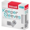 Maxell CD/DVD Keeper Sleeves - Clear (50 Pack) - Sleeve - Plastic - Clear