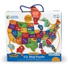 "Learning Resources Magnetic US Map Puzzle - 19"" Width x 13"" Height"