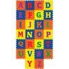 "Pacon WonderFoam Alphabet Carpet Tiles - 12"" Length x 12"" Width - Square - Assorted - Foam"