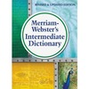 Merriam-Webster Intermediate Dictionary Printed Book - Hardcover - Grade 6-8 - English
