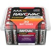 Rayovac Fusion Alkaline AAA Batteries - For Multipurpose - AAA - Alkaline - 30 / Pack