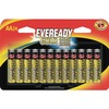 Eveready Gold Alkaline AA Batteries - For Multipurpose, Remote Control, Radio, Calculator, Toy - AA - 1.5 V DC - Alkaline - 24 / Pack