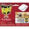 Raid Ant Baits - Ants - Clear - 4 / Pack