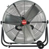 "Shop-Vac 24"" Floor Fan - 3 Blades - 24"" Diameter - Direct Drive, Wheel, Non-skid, Non-corrosive Blade, Transport Handle - 32.5"" Height x 12.3"" Width -"