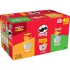 Pringles Crisps Grab 'N Go Variety Pack - Cheddar Cheese, Original, Sour Cream & Onion - Box - 48 / Box