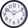 "Lorell 14-1/2"" Self-Set Wall Clock - Analog"