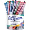 Pilot FriXion ColorStix Ballpoint Pen - Medium Pen PointGel-based Ink - 48 / Display Box
