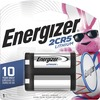 Energizer 2CR5 Batteries, 1 Pack - For Camera - 6 V DC - 1300 mAh - Lithium (Li) - 1 / Pack
