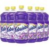 Fabuloso All Purpose Cleaner - 56 fl. oz. Bottle - Liquid - 56 fl oz (1.8 quart) - Lavender Scent - 6 / Carton - Purple