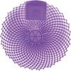 Genuine Joe Eclipse Scented Urinal Screen - Lavender Fields - Anti-splash, Flexible, Deodorizer, Sturdy - 36 / Carton - Purple