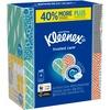 "Kleenex Trusted Care Tissues - 2 Ply - 8.20"" x 8.40"" - White - Soft, Strong, Absorbent, Durable - For Home, Office, School - 70 Per Box - 280 / Pack"