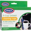 Weiman Urnex K-Cup Brewer Cleaning Cups - For Coffee Brewer - Phosphate-free, Odorless - 5 / Box - Multi
