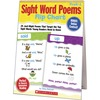 Scholastic Sight Word Poems Flip Chart - Theme/Subject: Learning, Fun - Skill Learning: Reading, Word Recognition - 1 Each