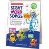 Scholastic Sight Word Songs Flip Chart & CD - Theme/Subject: Learning, Fun - Skill Learning: Songs, Reading - 1 Each