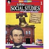 Shell Education 180 Days Social Studies Workbook Printed Book - Book - Grade 1