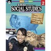 Shell Education 180 Days Social Studies Workbook Printed Book - Book - Grade 2