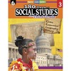 Shell Education 180 Days Social Studies Workbook Printed Book - Book - Grade 3