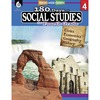 Shell Education 180 Days Social Studies Workbook Printed Book - Book - Grade 4