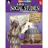 Shell Education 180 Days Social Studies Workbook Printed Book - Book - Grade 5